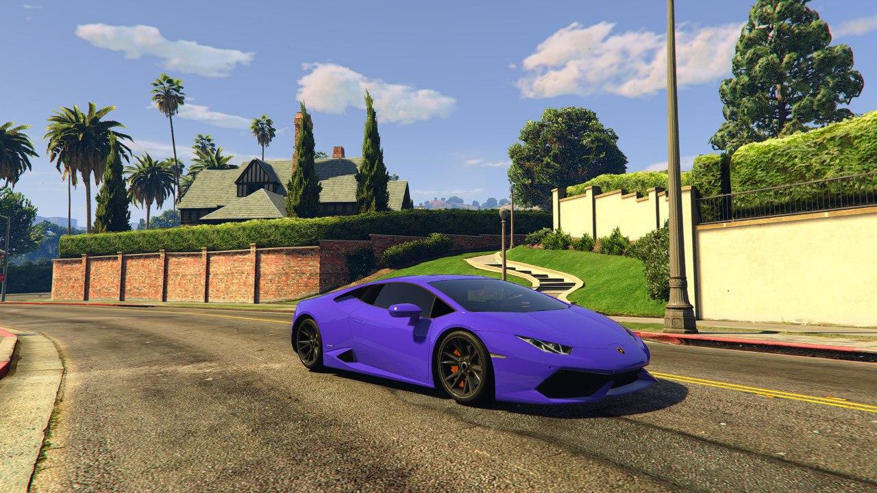 Lamborghini Huracan 2015 v1.0 для GTA V - Скриншот 3