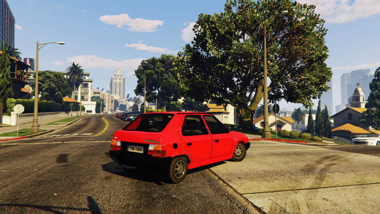 Škoda Favorit [BETA] для GTA V - Скриншот 2