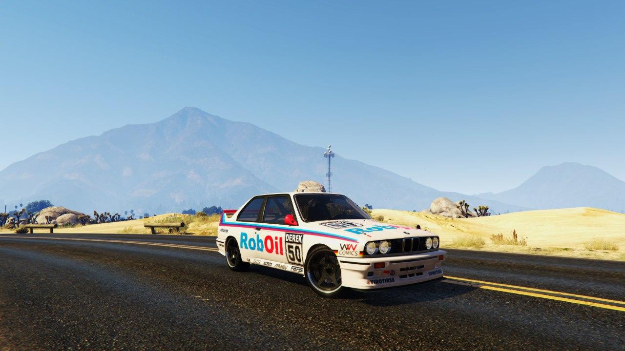 1991 DTM BMW E30 v1.1 для GTA V - Скриншот 1