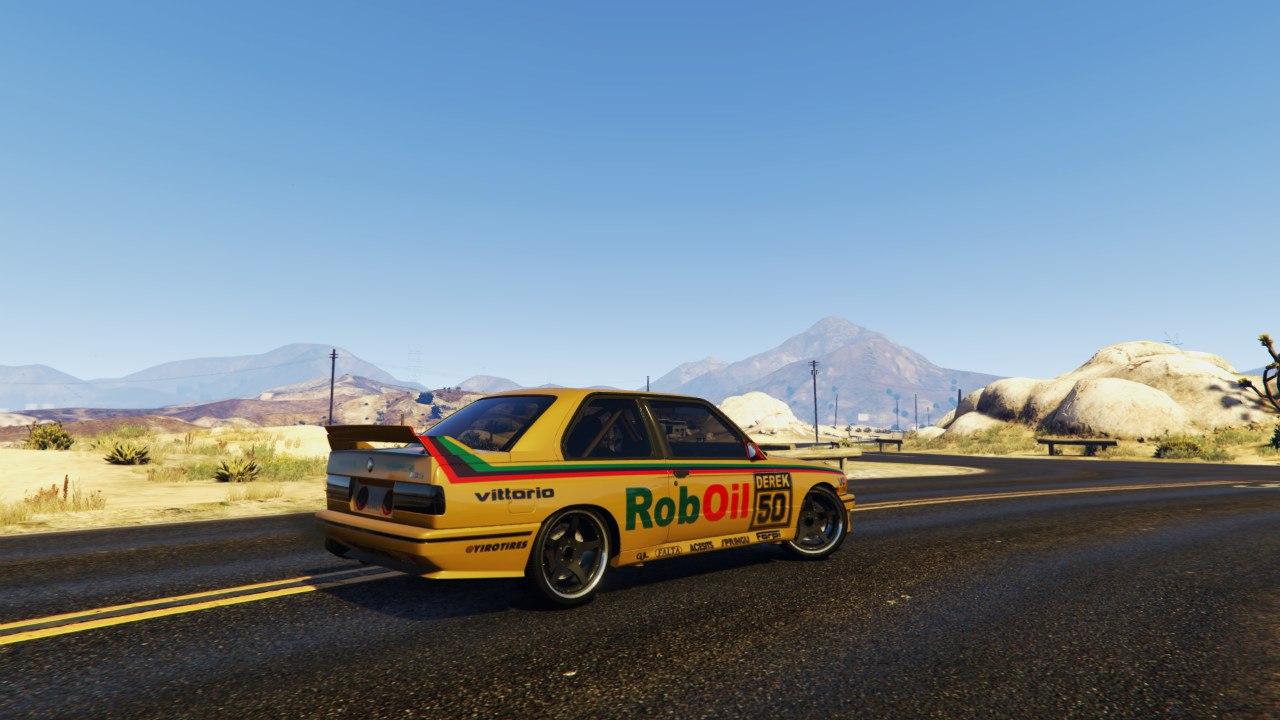 1991 DTM BMW E30 v1.1 для GTA V - Скриншот 3
