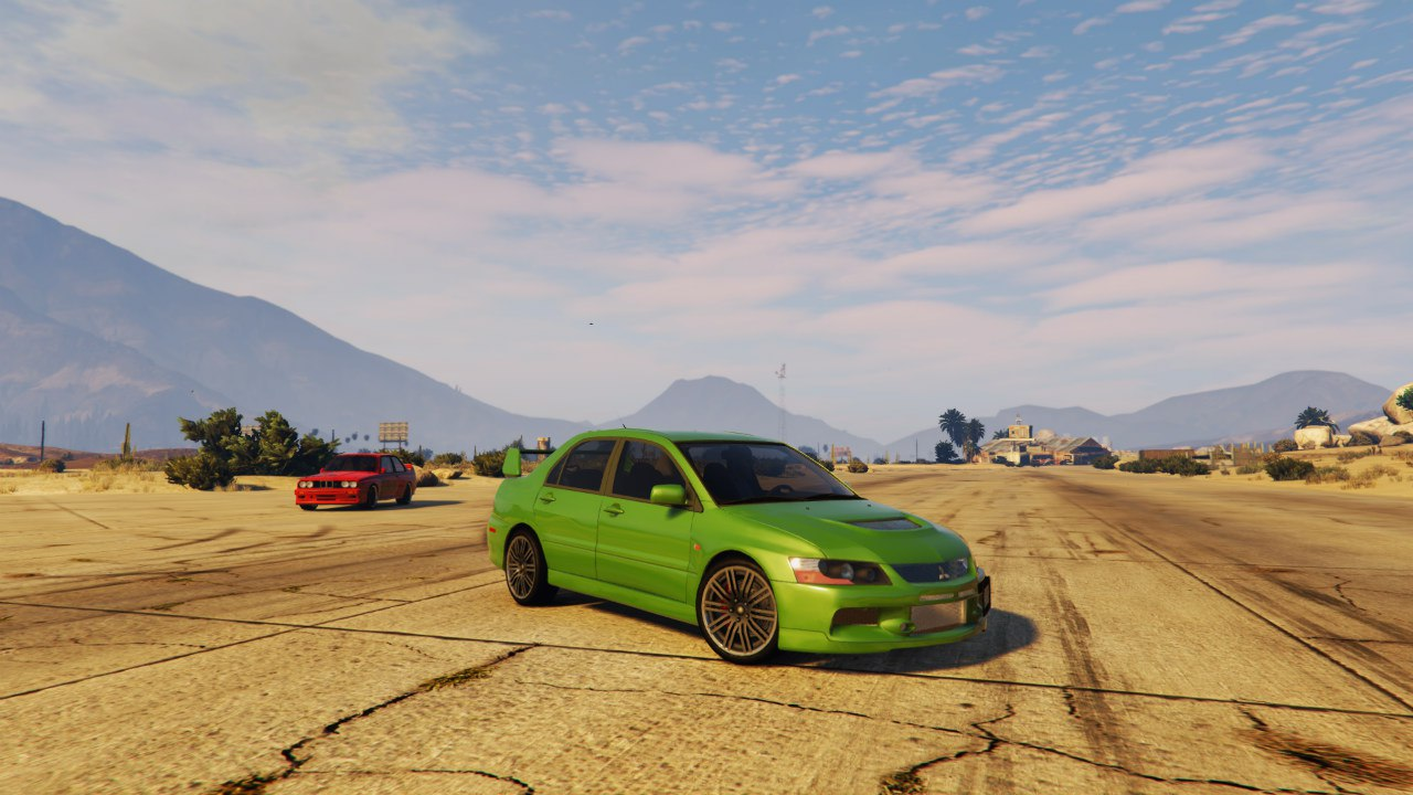 Mitsubishi Lancer Evolution IX MR v1.0 для GTA V - Скриншот 1