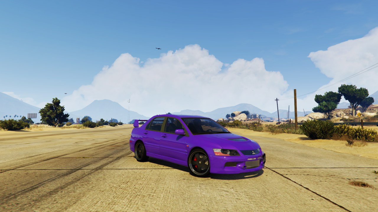 Mitsubishi Lancer Evolution IX MR v1.0 для GTA V - Скриншот 2