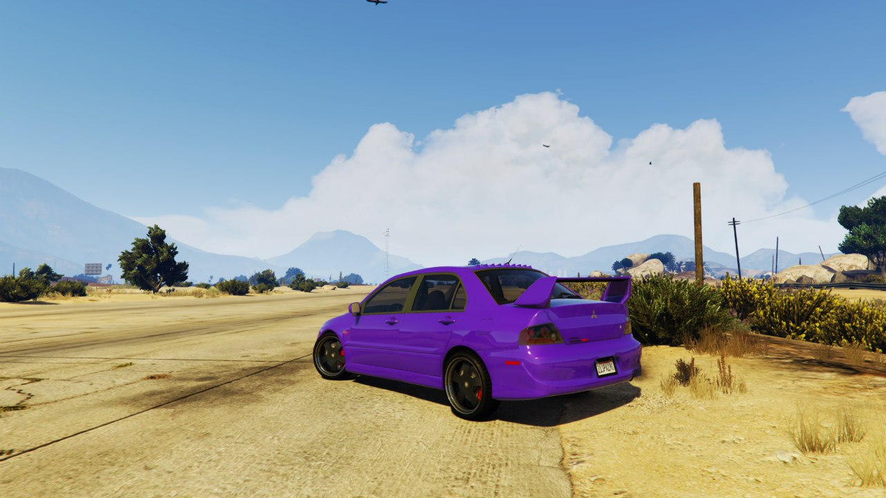 Mitsubishi Lancer Evolution IX MR v1.0 для GTA V - Скриншот 3