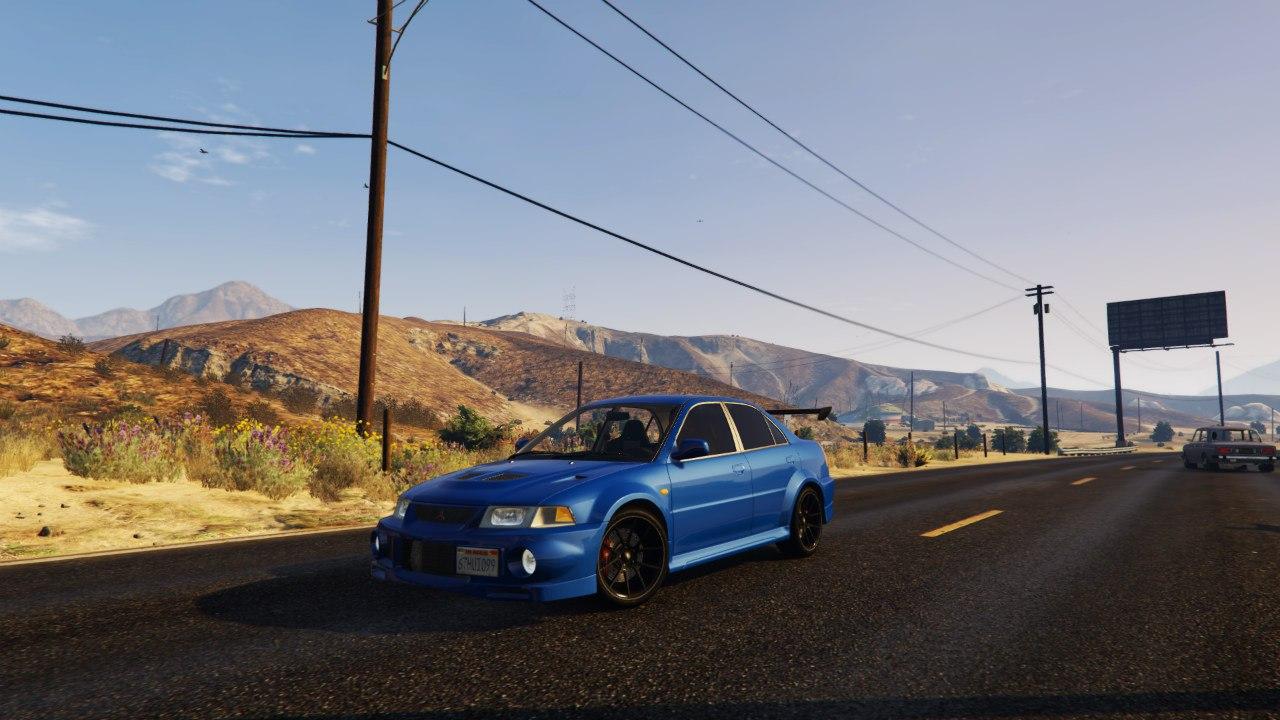 Mitsubishi Lancer Evo VI GSR v1.0 для GTA V - Скриншот 2