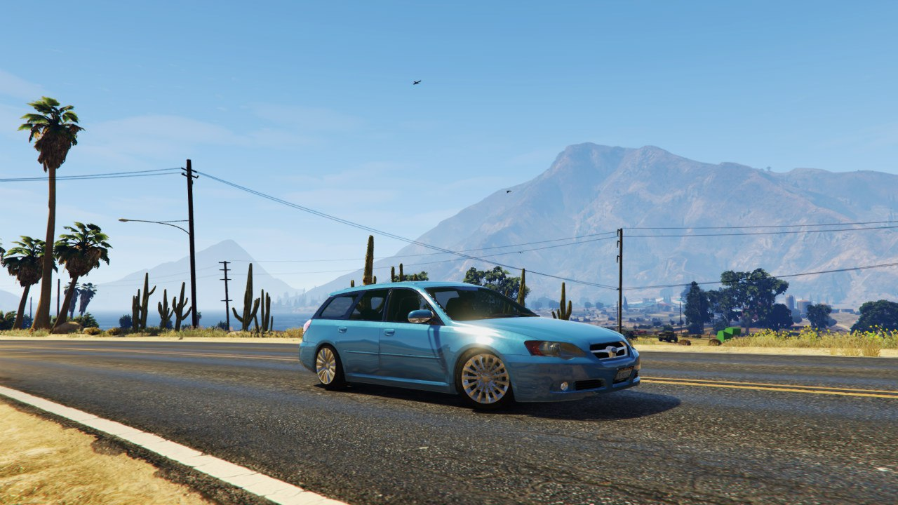 Subaru Legacy Touring Wagon BP5 v0.1 для GTA V - Скриншот 2