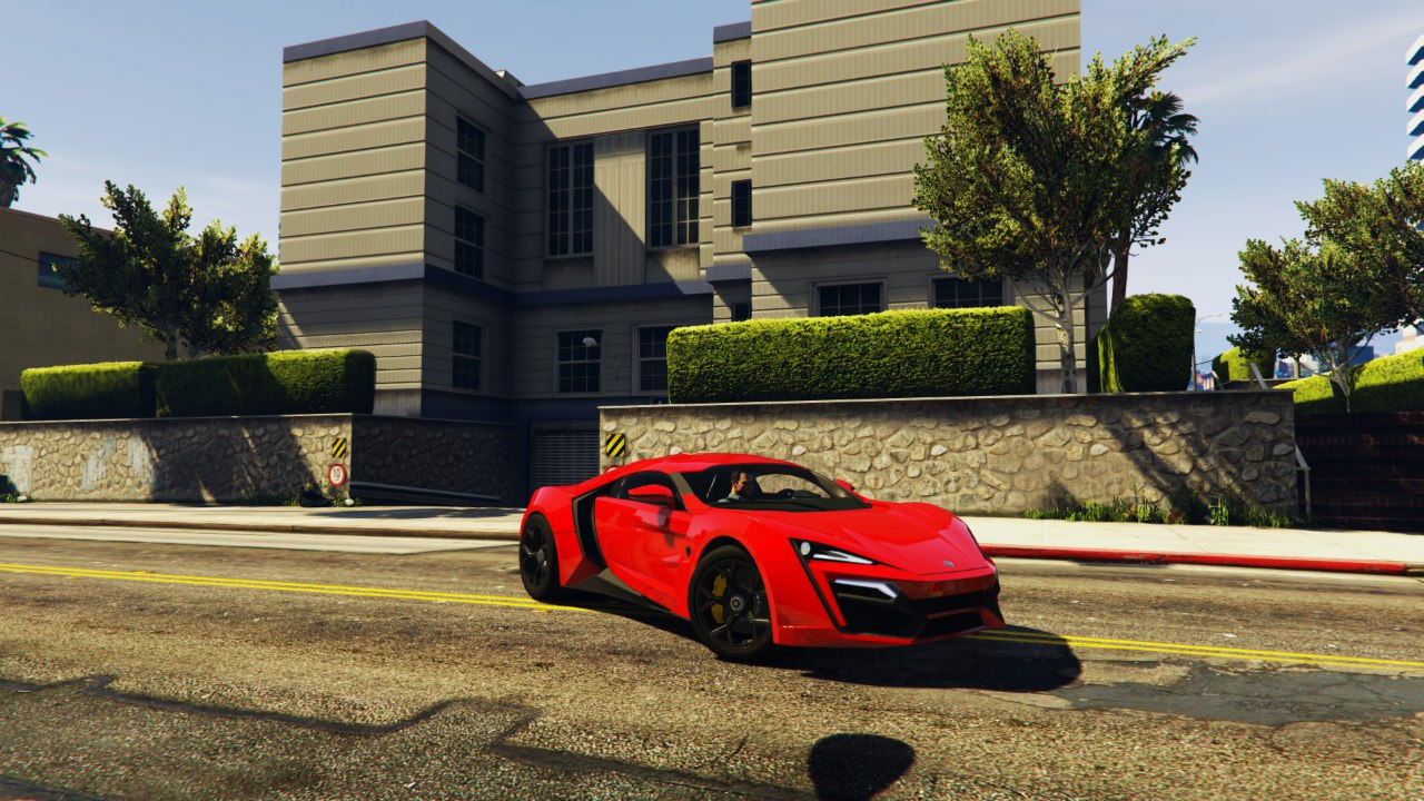 2014 Lykan Hypersport WMotors для GTA V - Скриншот 1