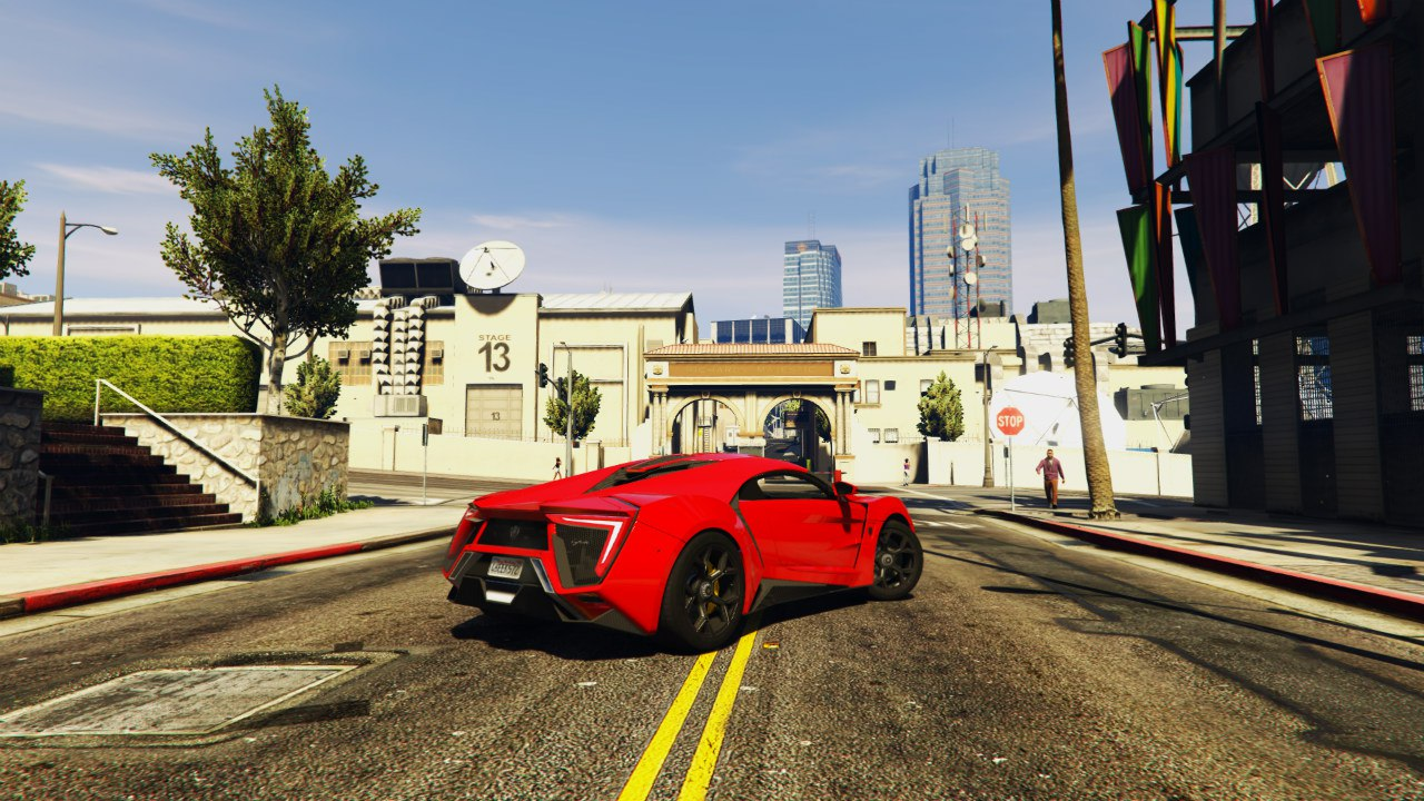 2014 Lykan Hypersport WMotors для GTA V - Скриншот 2