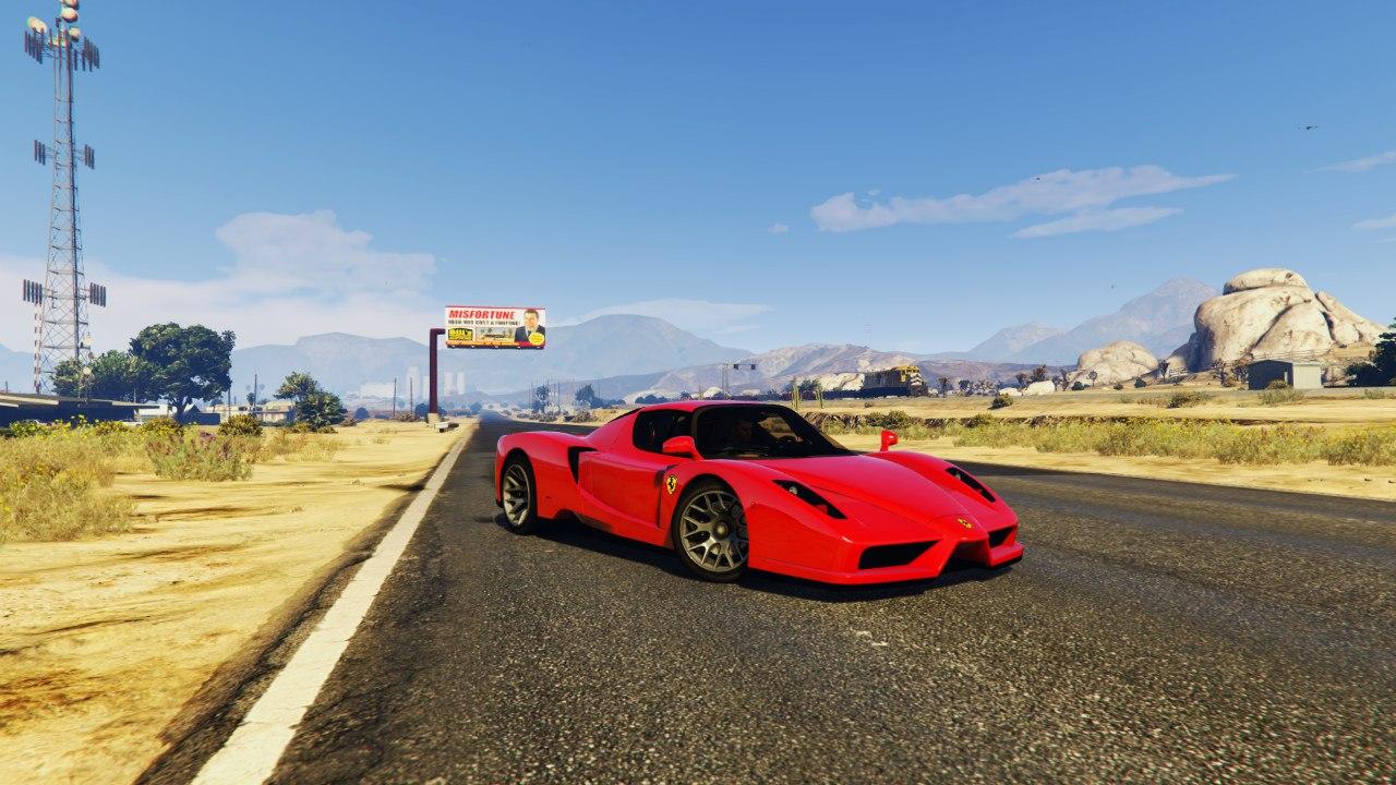 Ferrari Enzo 0.5 для GTA V - Скриншот 1