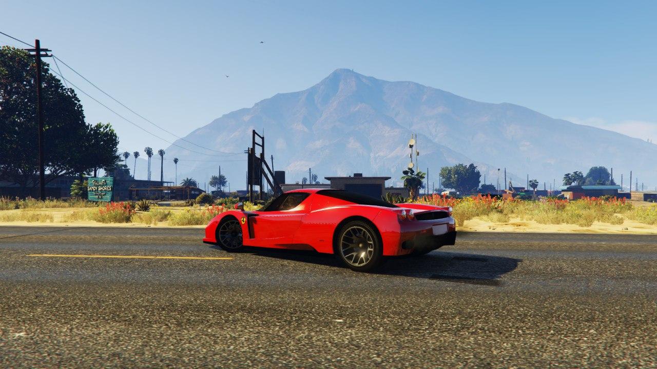 Ferrari Enzo 0.5 для GTA V - Скриншот 2