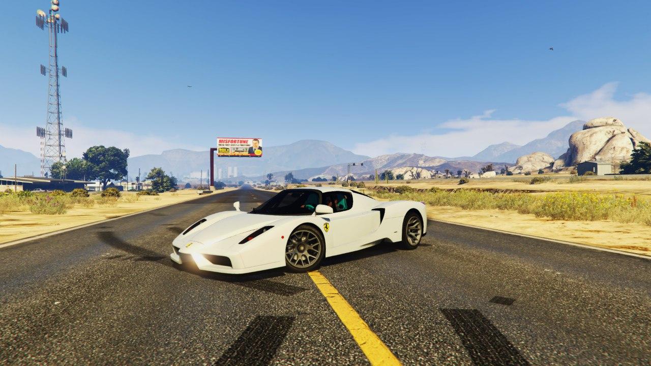 Ferrari Enzo 0.5 для GTA V - Скриншот 3