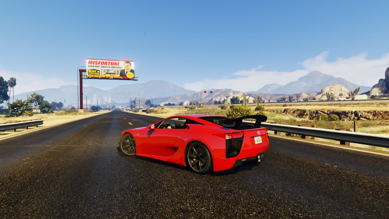 Lexus LFA Nurburgring Package 2012 для GTA V - Скриншот 2