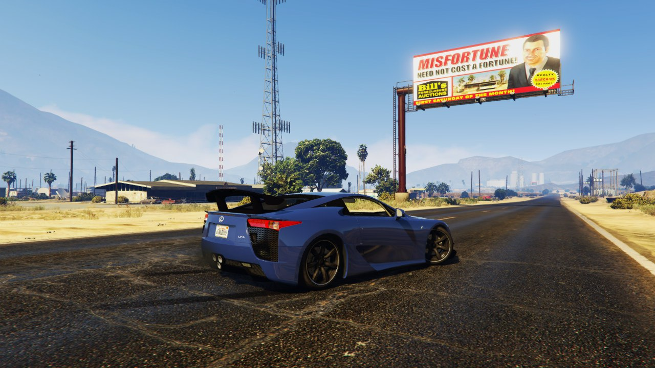 Lexus LFA Nurburgring Package 2012 для GTA V - Скриншот 1