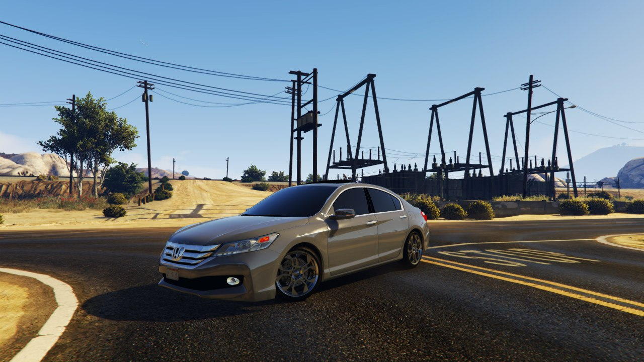 2015 Honda Accord v1.0 для GTA V - Скриншот 1