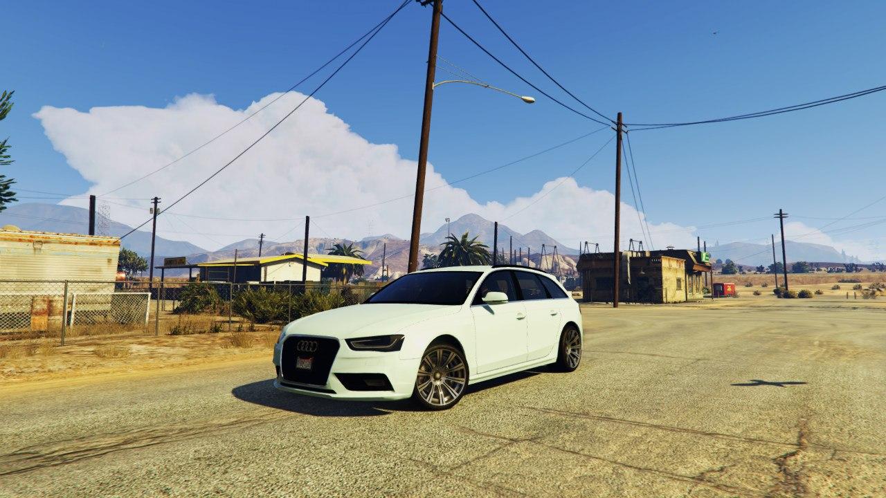 2013 Audi A4 Avant для GTA V - Скриншот 1