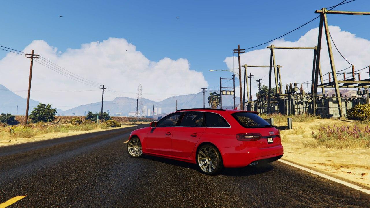 2013 Audi A4 Avant для GTA V - Скриншот 3