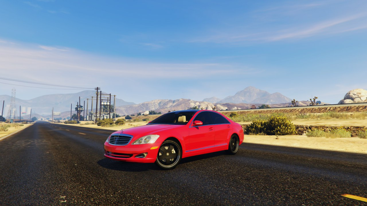 Mercedes-Benz S-Class W221 (2007-2009) 0.5.3 [BETA] для GTA V - Скриншот 2