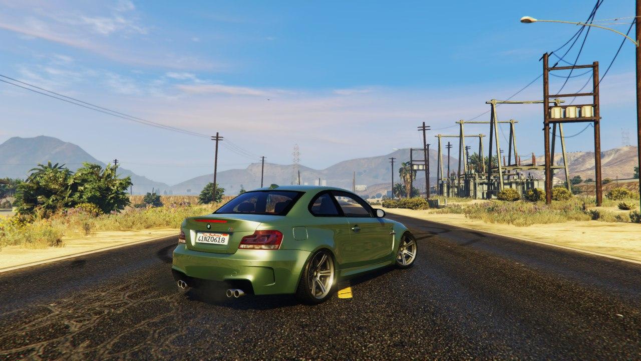BMW 1M v1.2 для GTA V - Скриншот 1
