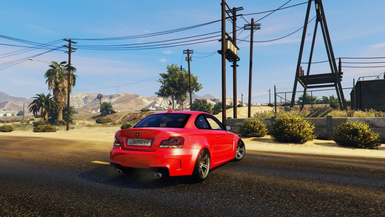 BMW 1M v1.2 для GTA V - Скриншот 2
