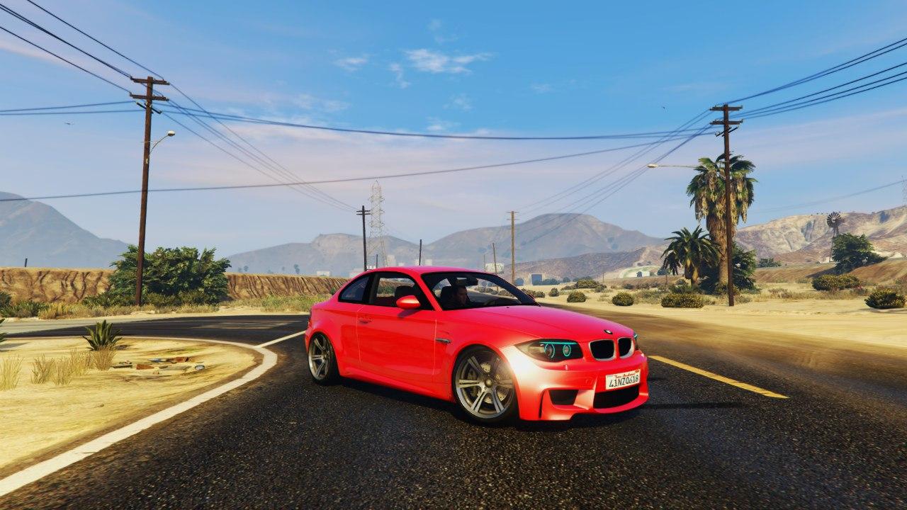 BMW 1M v1.2 для GTA V - Скриншот 3