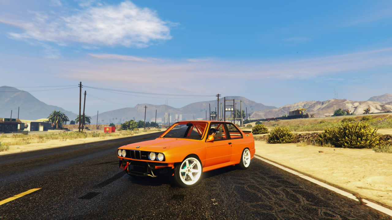 1991 BMW E30 Drift Edition 1.1 для GTA V - Скриншот 1
