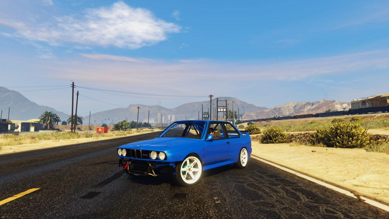1991 BMW E30 Drift Edition 1.1 для GTA V - Скриншот 2