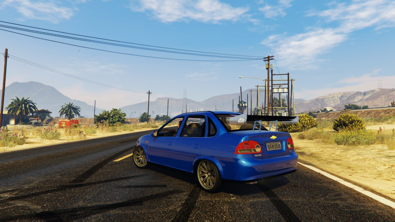 Chevrolet Classic 1.4 для GTA V - Скриншот 2