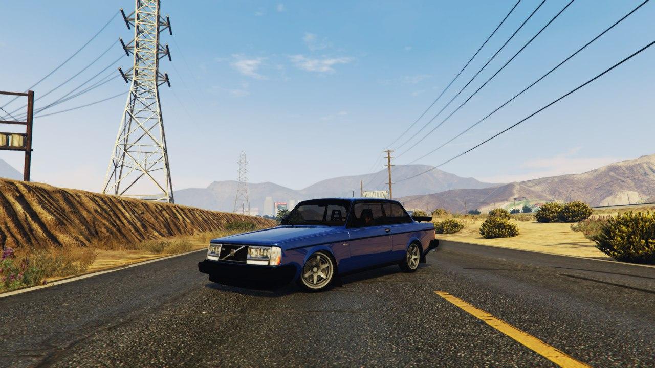 Volvo 240 Turbo 1.1 для GTA V - Скриншот 1