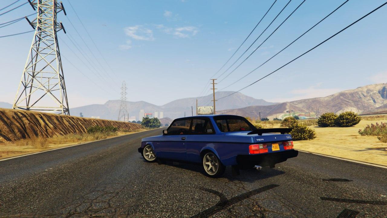 Volvo 240 Turbo 1.1 для GTA V - Скриншот 2