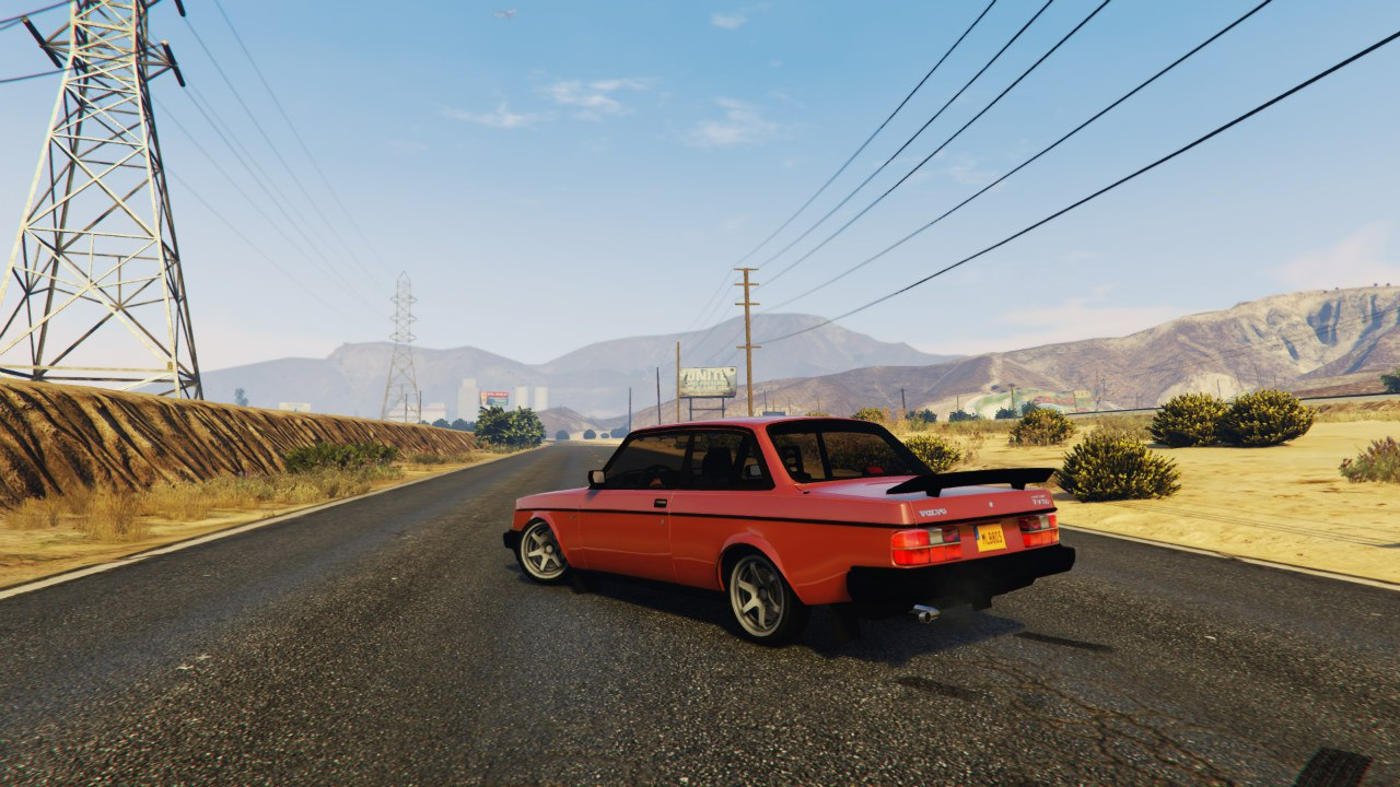 Volvo 240 Turbo 1.1 для GTA V - Скриншот 3
