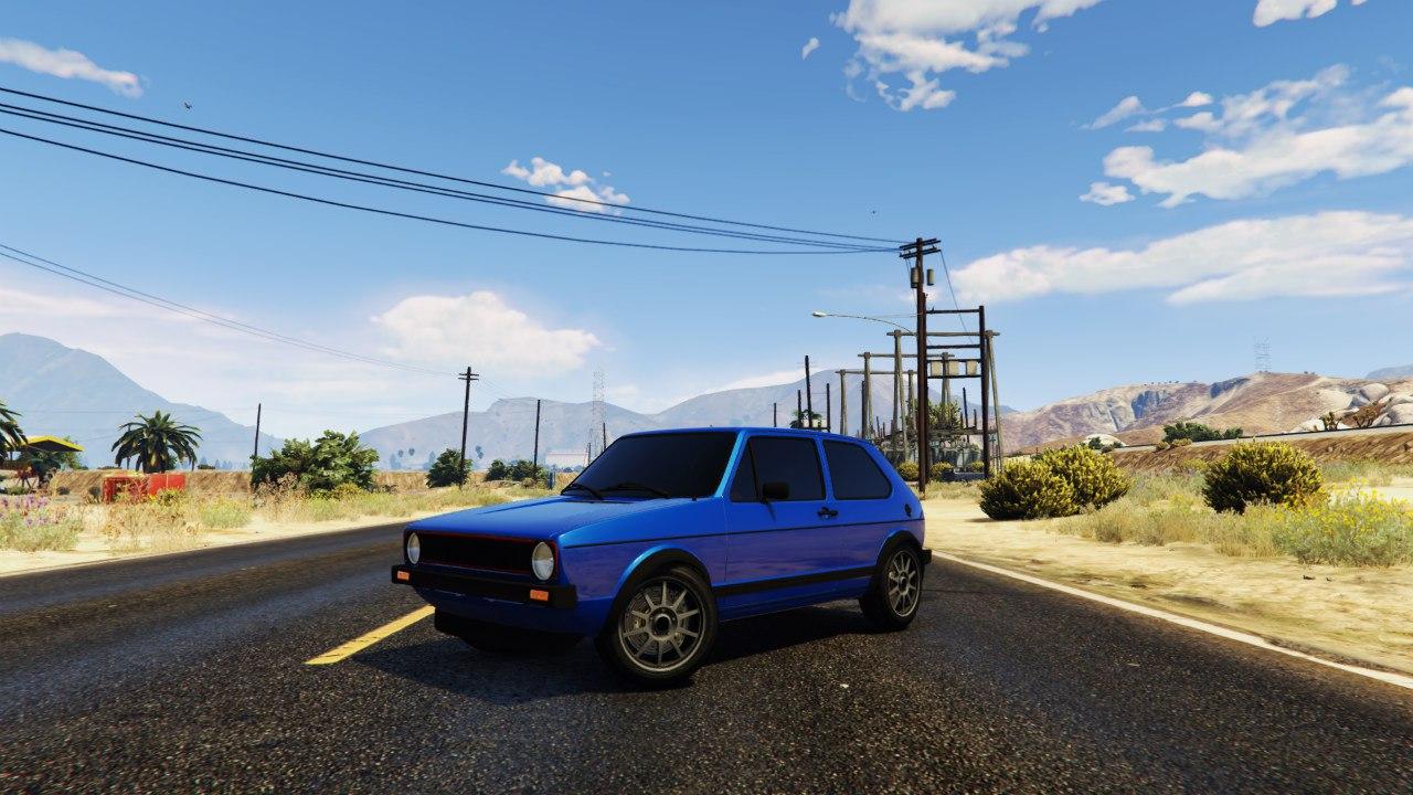 Volkswagen Golf MK1 GTI 1.0 для GTA V - Скриншот 1