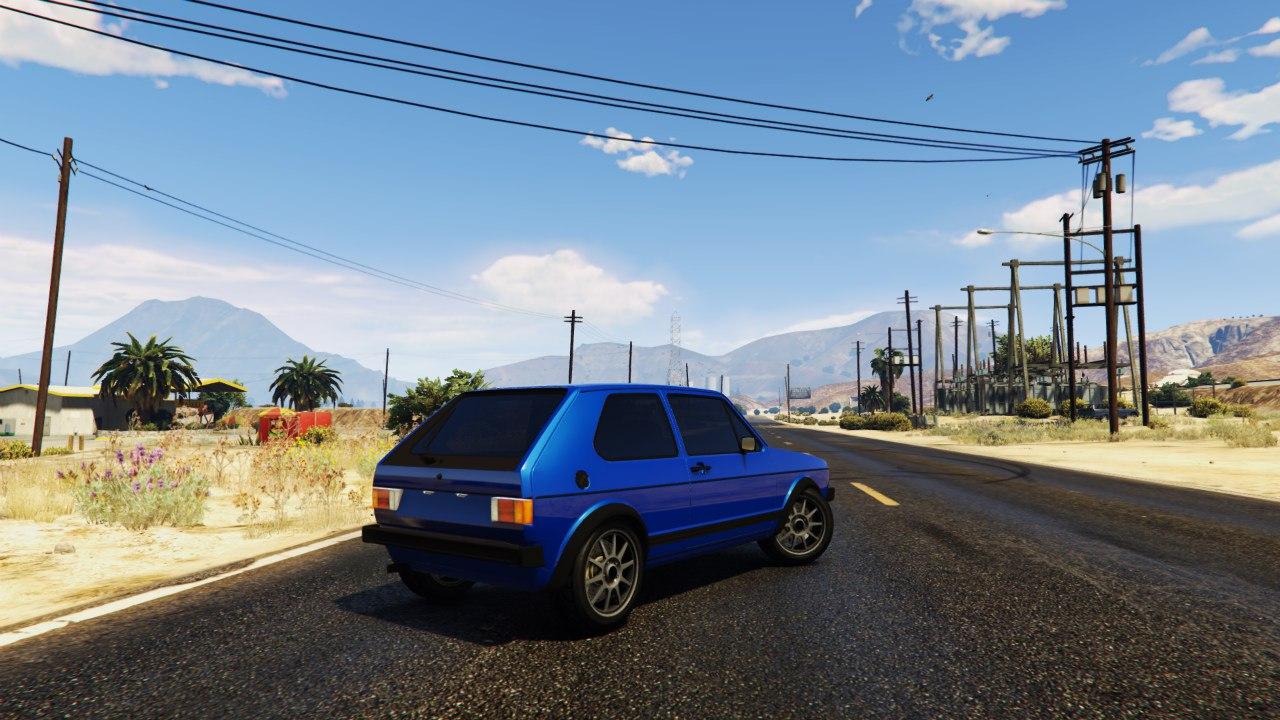 Volkswagen Golf MK1 GTI 1.0 для GTA V - Скриншот 2