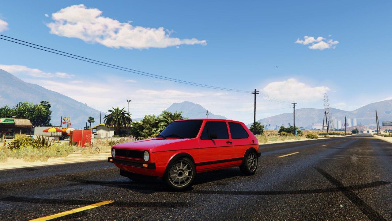 Volkswagen Golf MK1 GTI 1.0 для GTA V - Скриншот 3