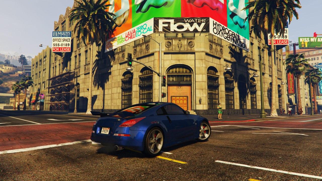Nissan 350z для GTA V - Скриншот 3