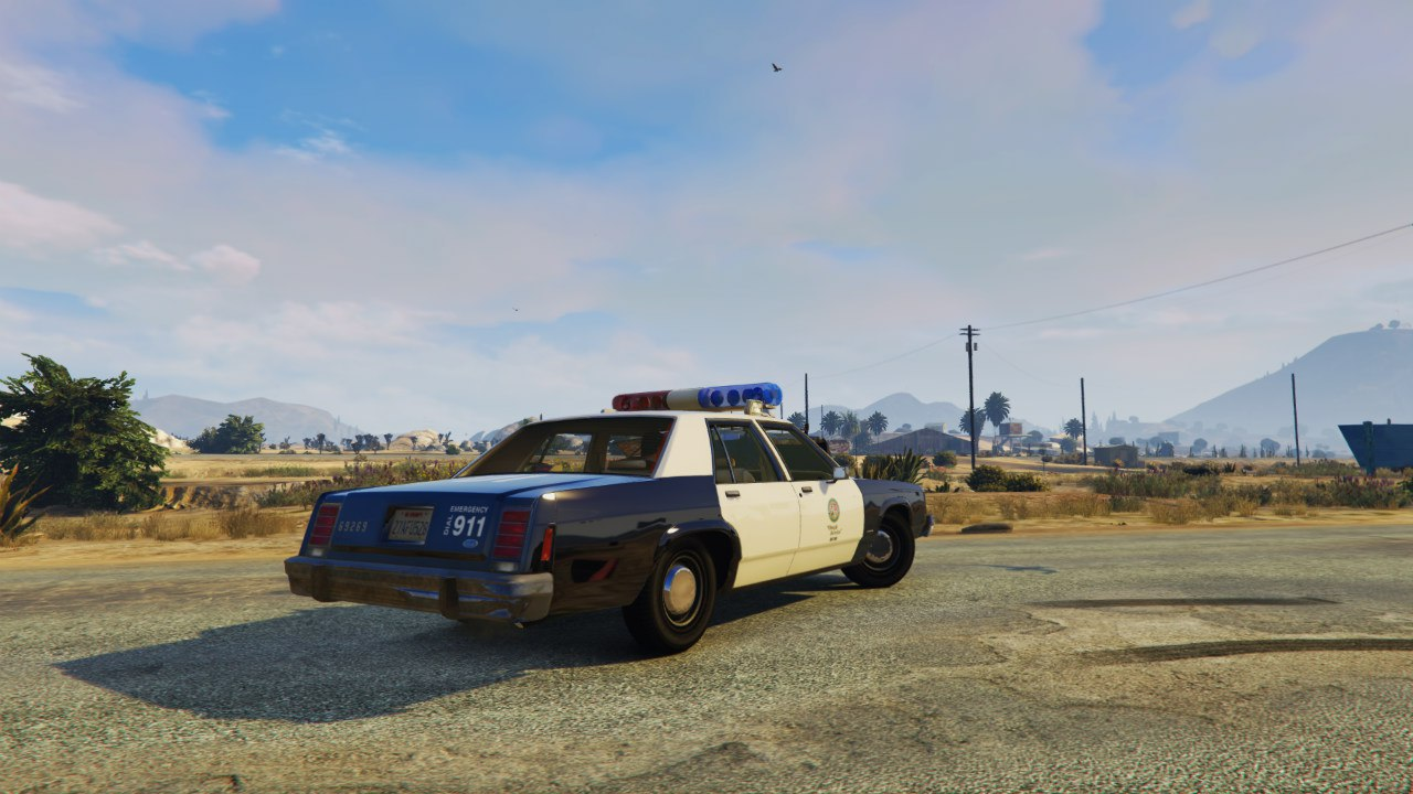 LSPD 1991 Caprice and 1987 Crown Victoria LTD для GTA V - Скриншот 2