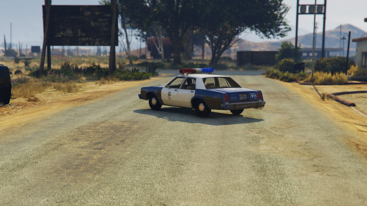 LSPD 1991 Caprice and 1987 Crown Victoria LTD для GTA V - Скриншот 3