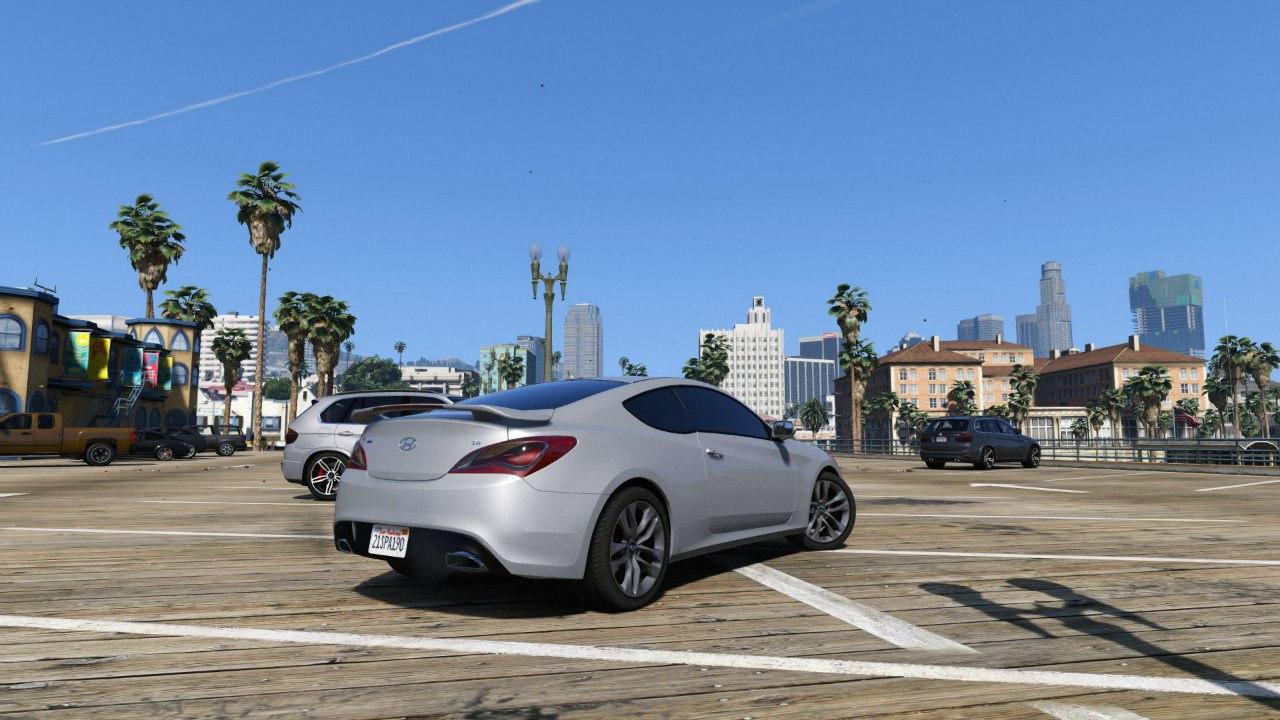 2013 Hyundai Genesis 0.1 для GTA V - Скриншот 3
