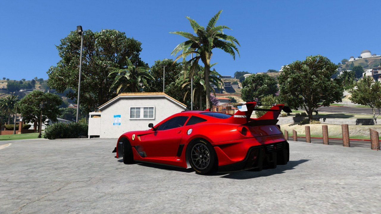 Ferrari 599XX Super Sports Car для GTA V - Скриншот 1