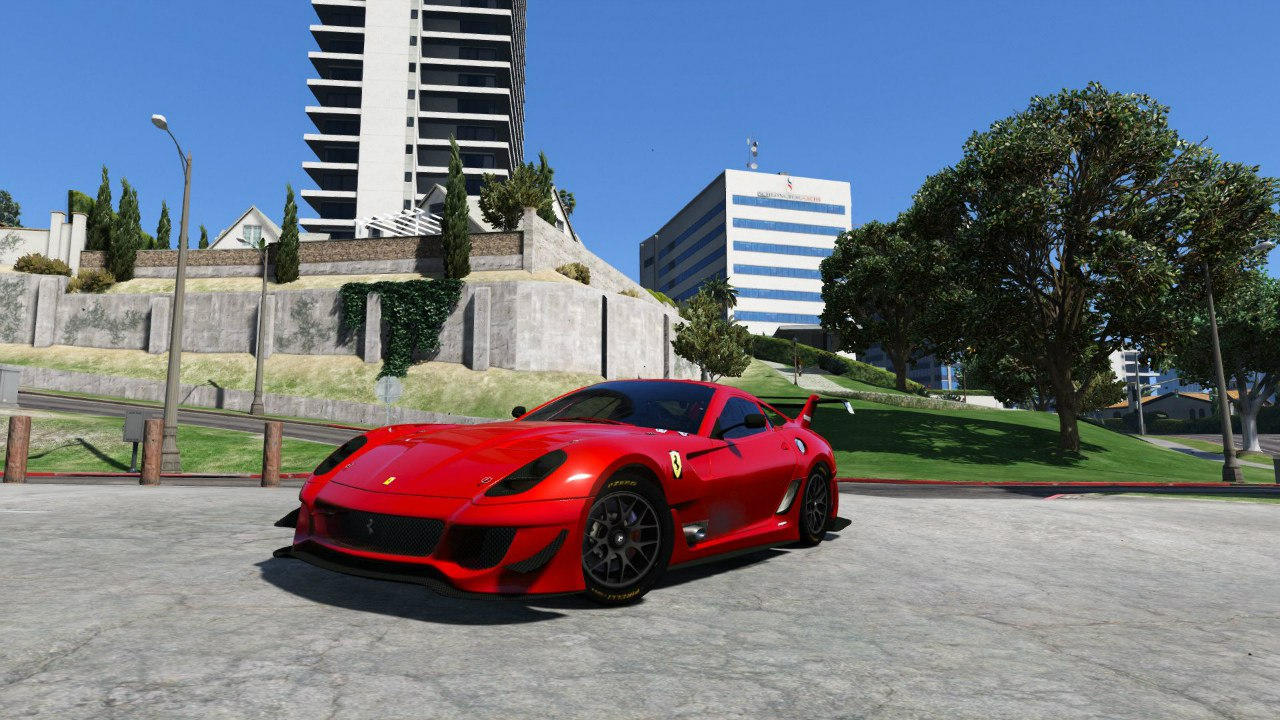 Ferrari 599XX Super Sports Car для GTA V - Скриншот 2