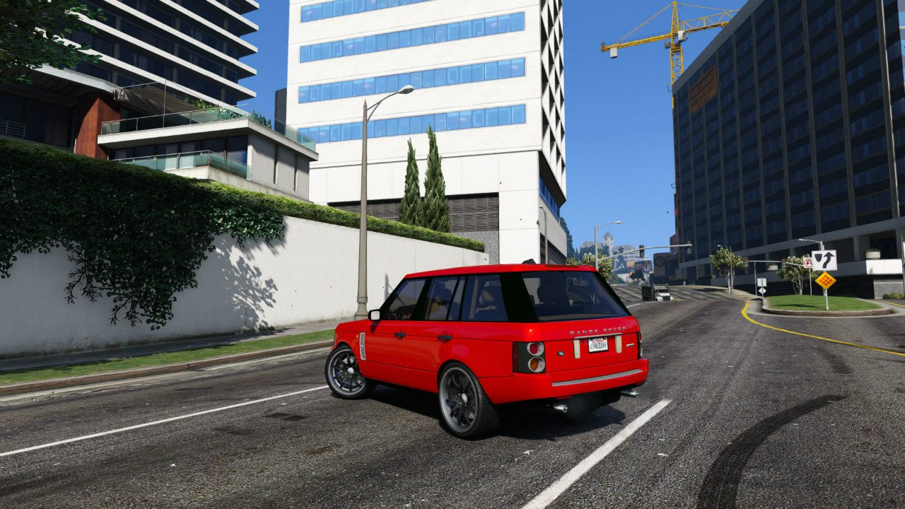 Range Rover Supercharged для GTA V - Скриншот 2