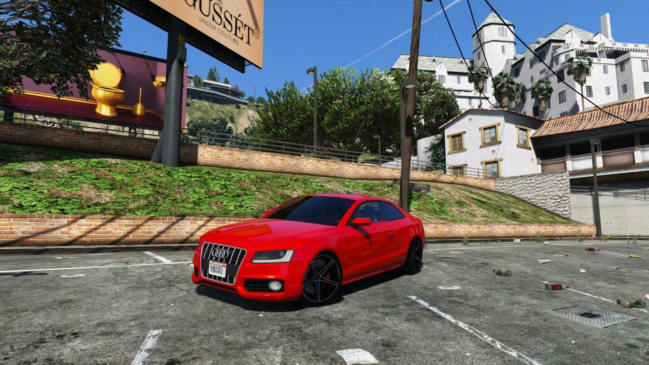 Audi S5 Coupe Vossen для GTA V - Скриншот 3