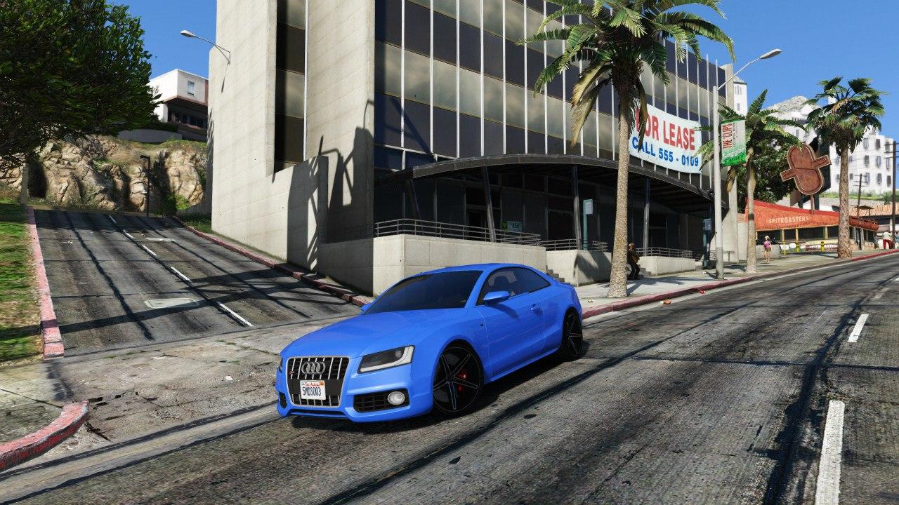 Audi S5 Coupe Vossen для GTA V - Скриншот 1