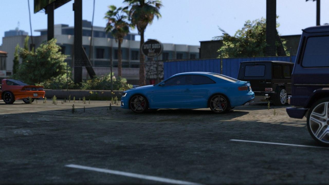 Audi S5 Coupe Vossen для GTA V - Скриншот 2