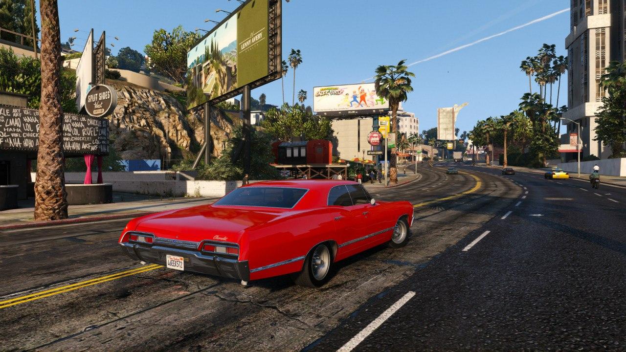 Chevrolet Impala 67 для GTA V - Скриншот 1