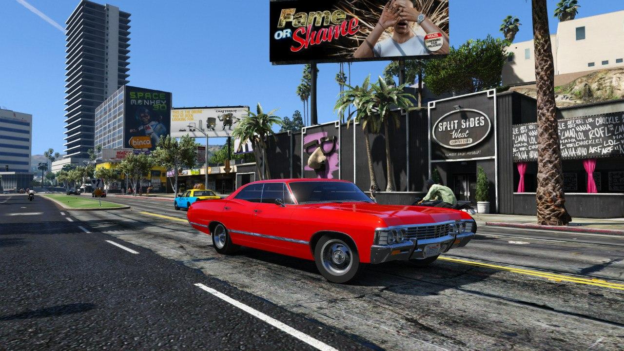 Chevrolet Impala 67 для GTA V - Скриншот 2