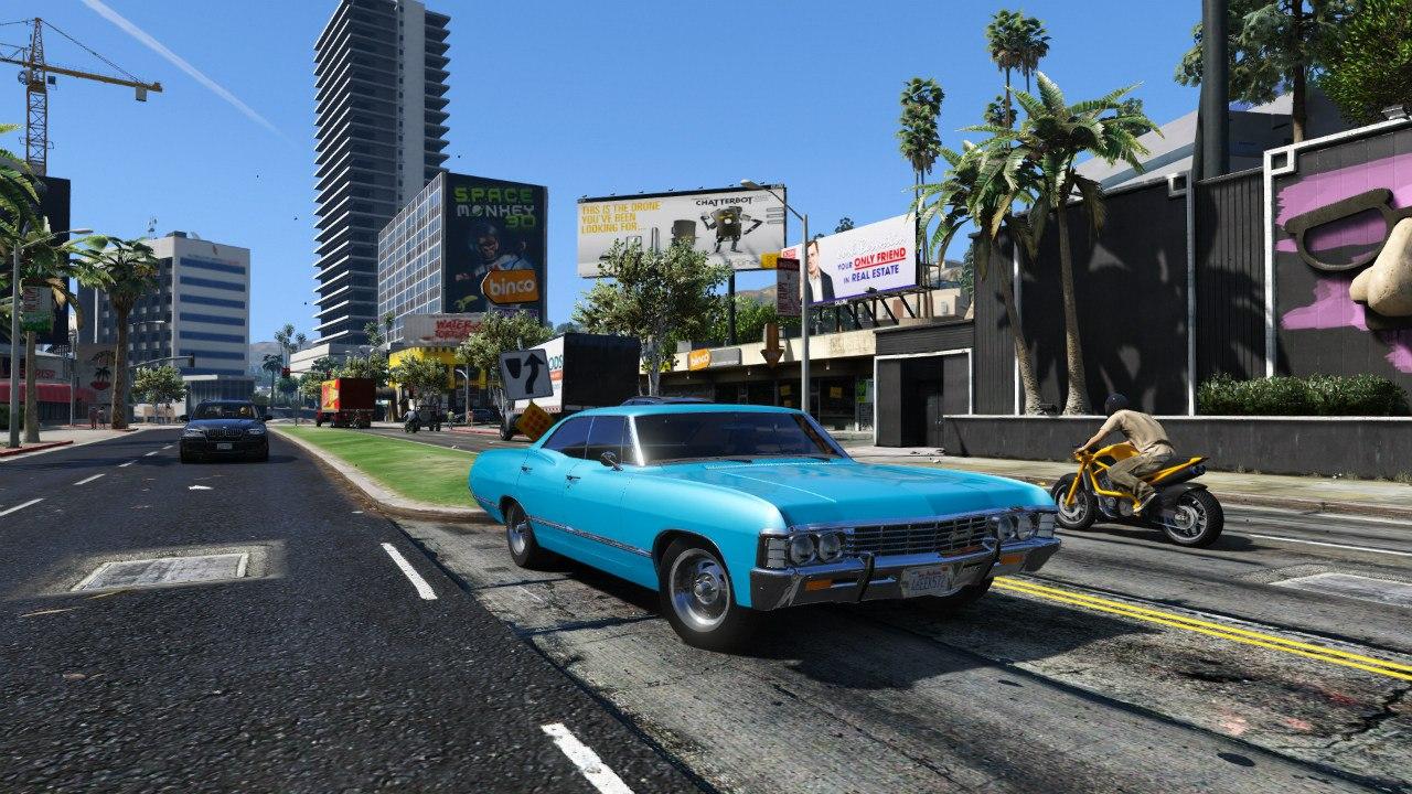 Chevrolet Impala 67 для GTA V - Скриншот 3