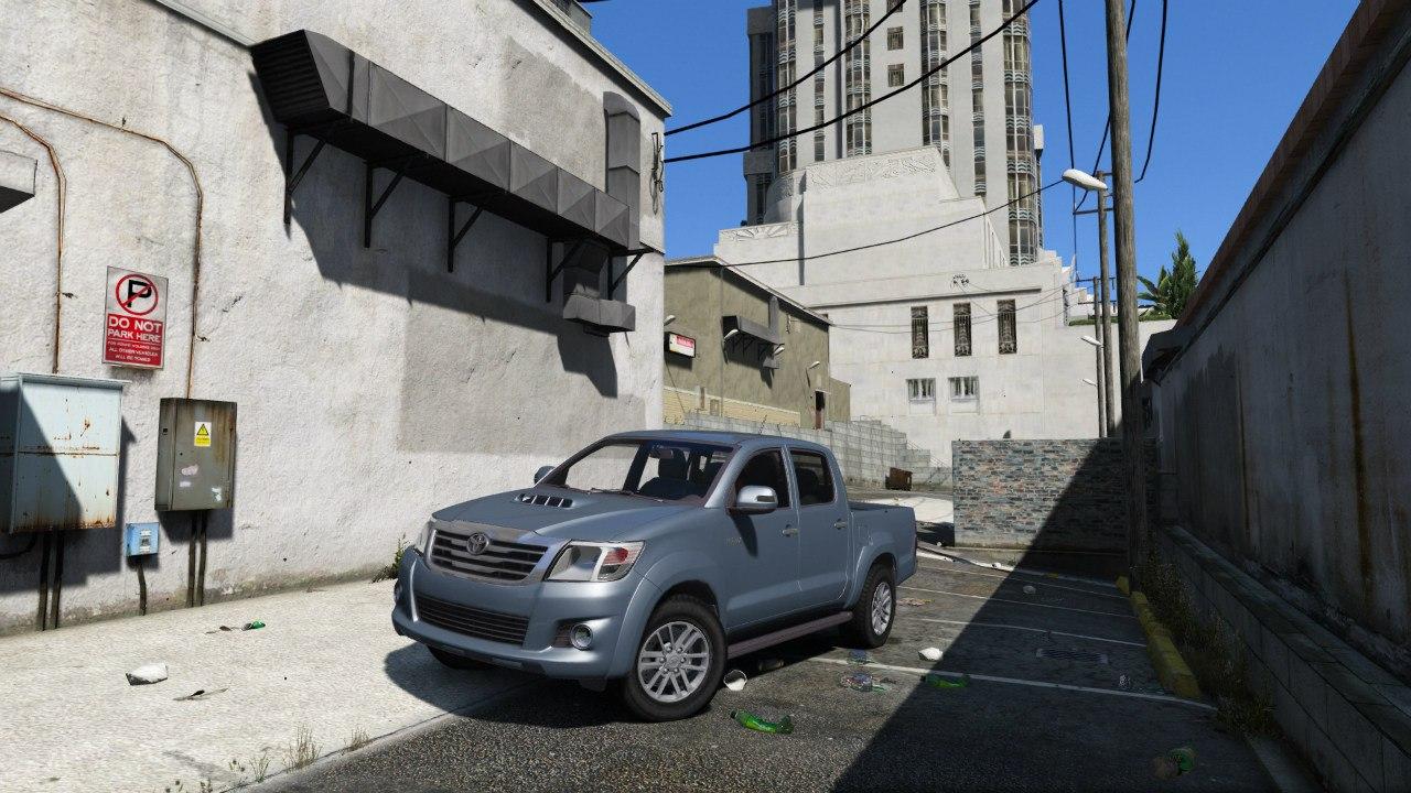 Toyota Hilux 2012 (Vigo Champ) для GTA V - Скриншот 1