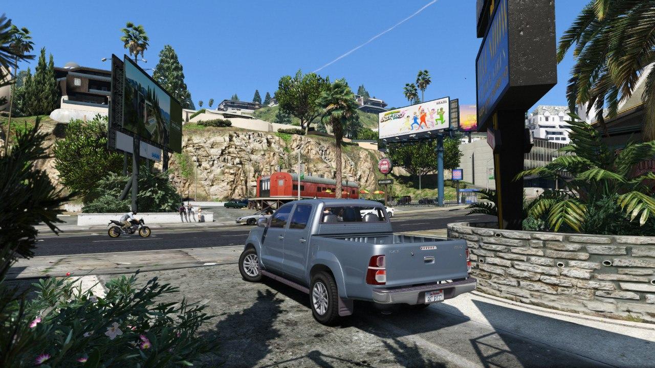 Toyota Hilux 2012 (Vigo Champ) для GTA V - Скриншот 2