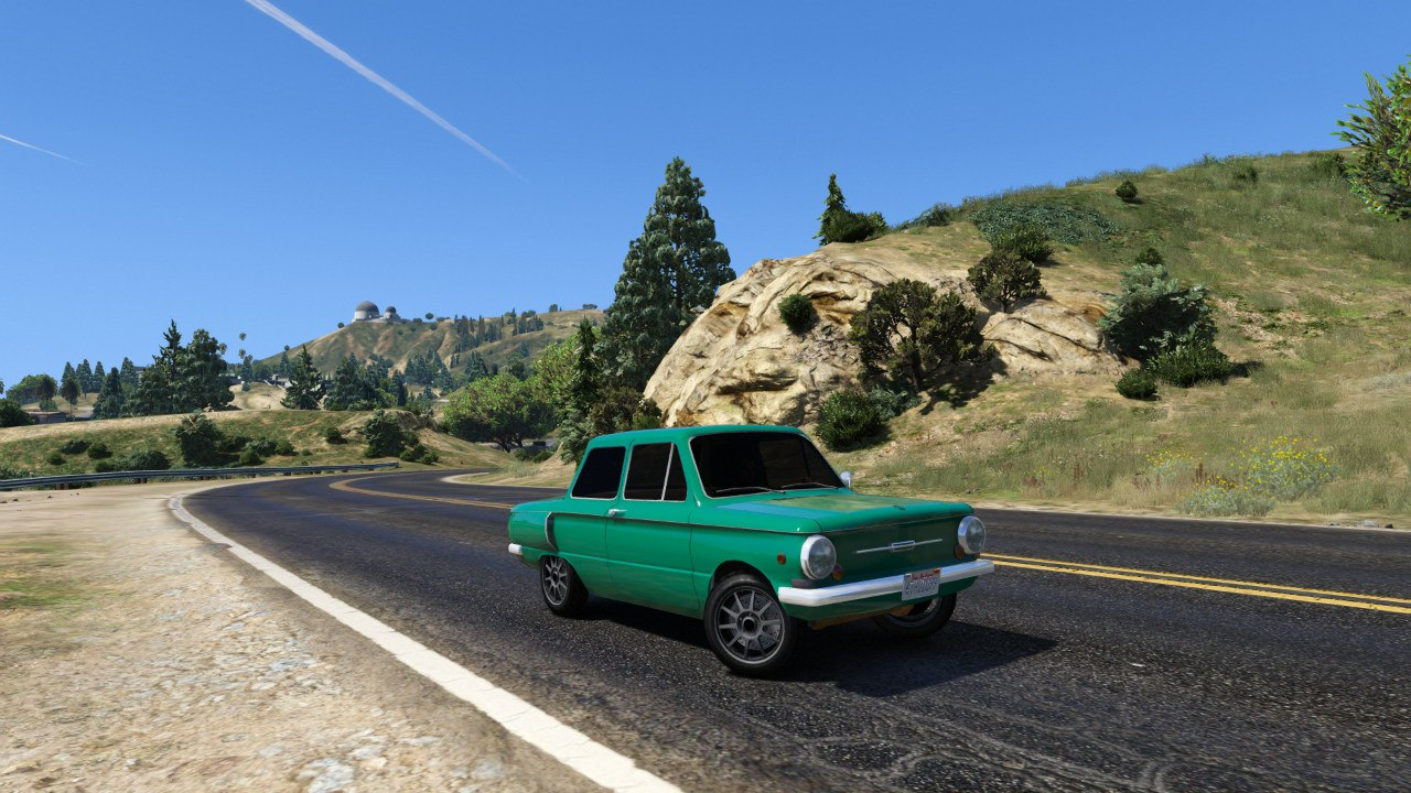 ЗАЗ 968А для GTA V - Скриншот 1