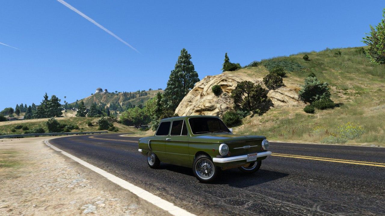 ЗАЗ 968А для GTA V - Скриншот 2
