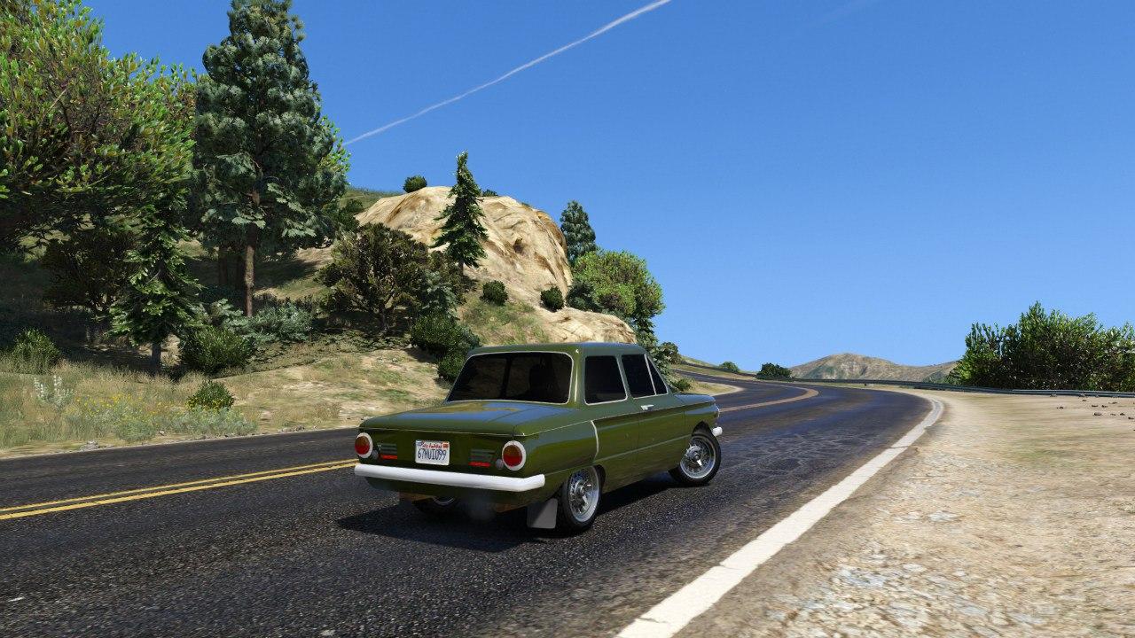 ЗАЗ 968А для GTA V - Скриншот 3